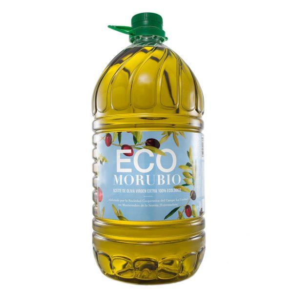 """Comprar Aceite de Oliva Virgen Extra Ecológico """"ECOMorubio 5L"""""""