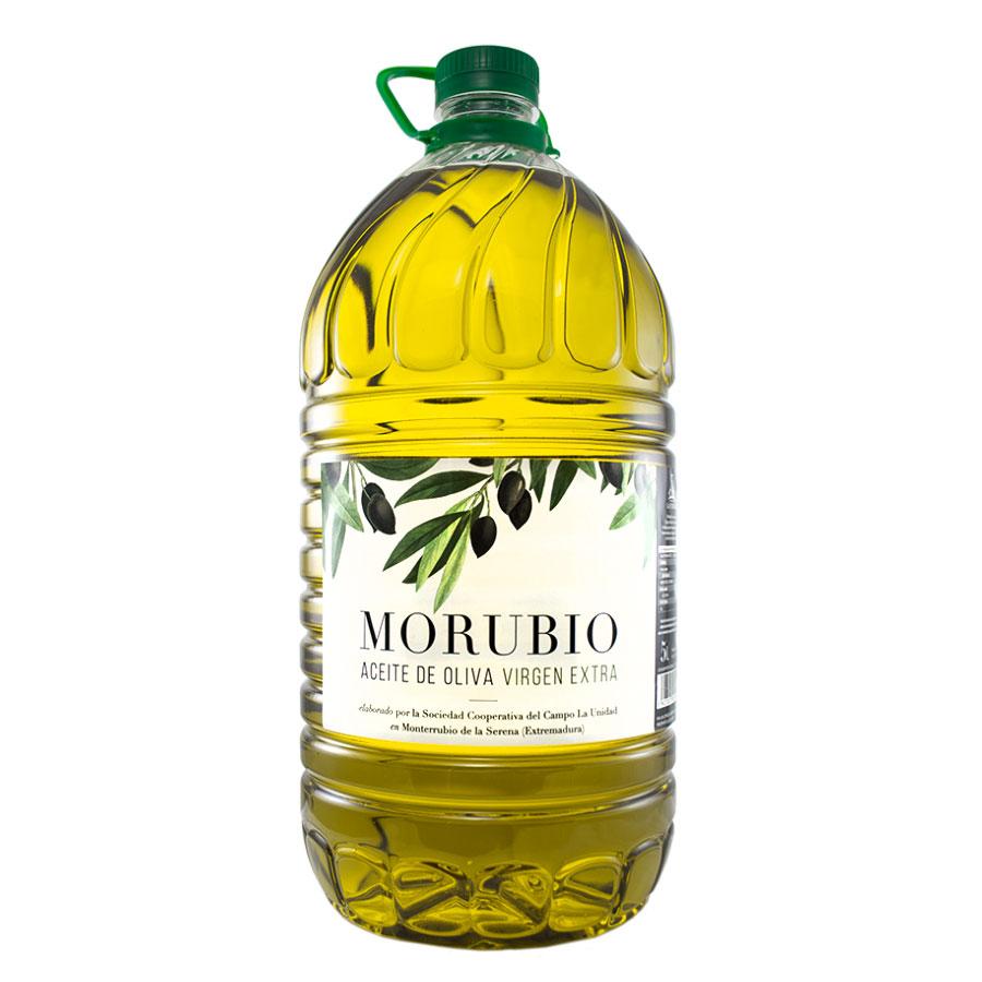"""Comprar Aceite de Oliva Virgen Extra """"Morubio 5L"""""""