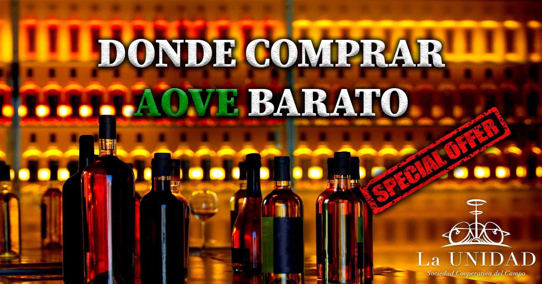 Donde comprar Aceite de Oliva a buen precio
