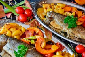 Pescado con Aceite de Oliva
