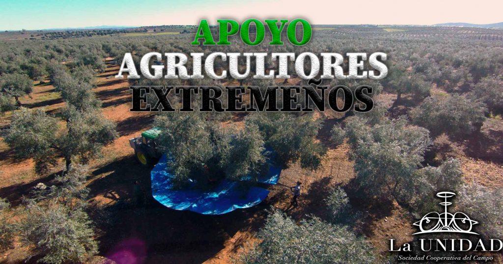 Apoyo agricultores extremeños