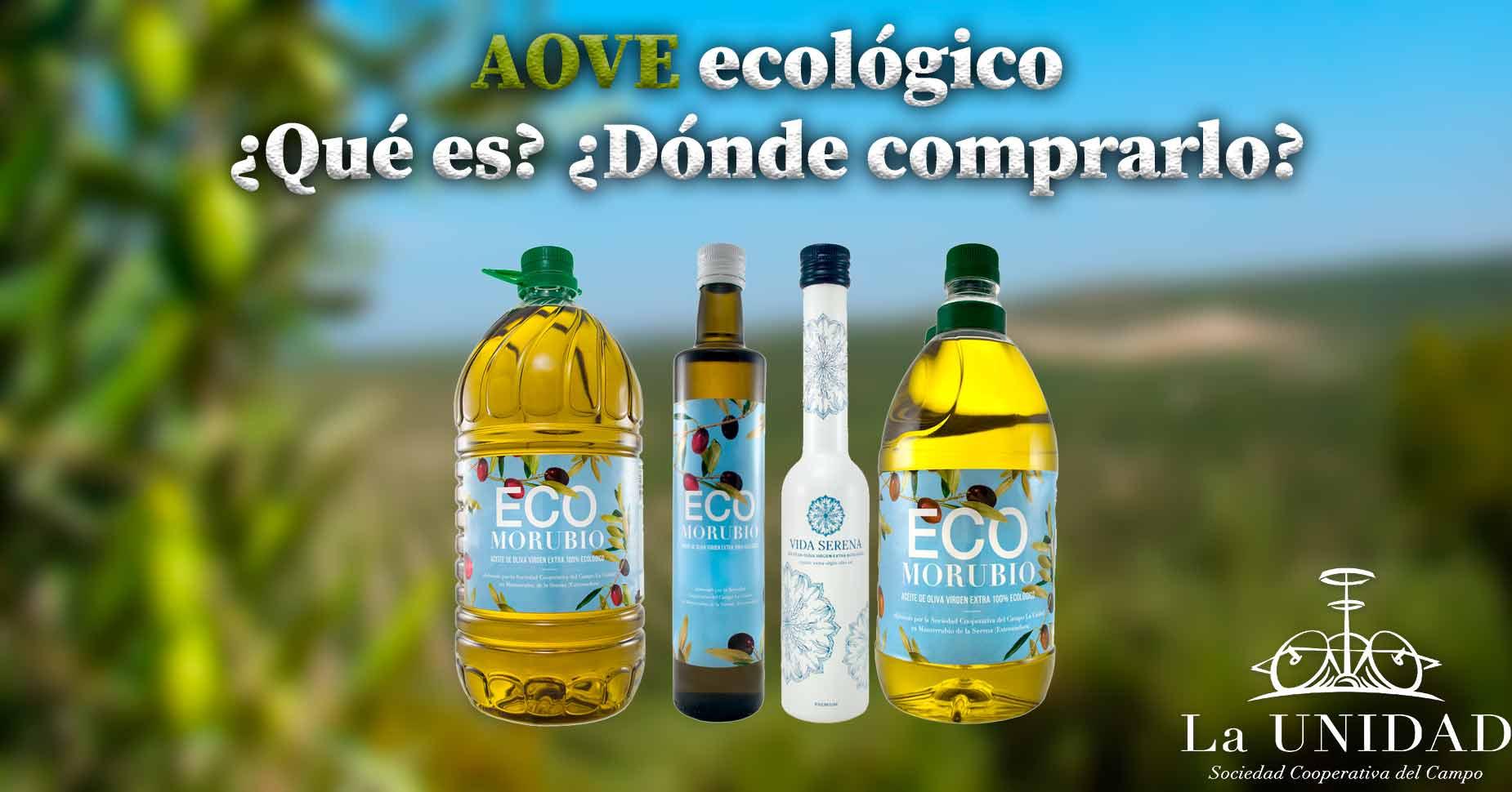 Que es el aceite de oliva ecologico