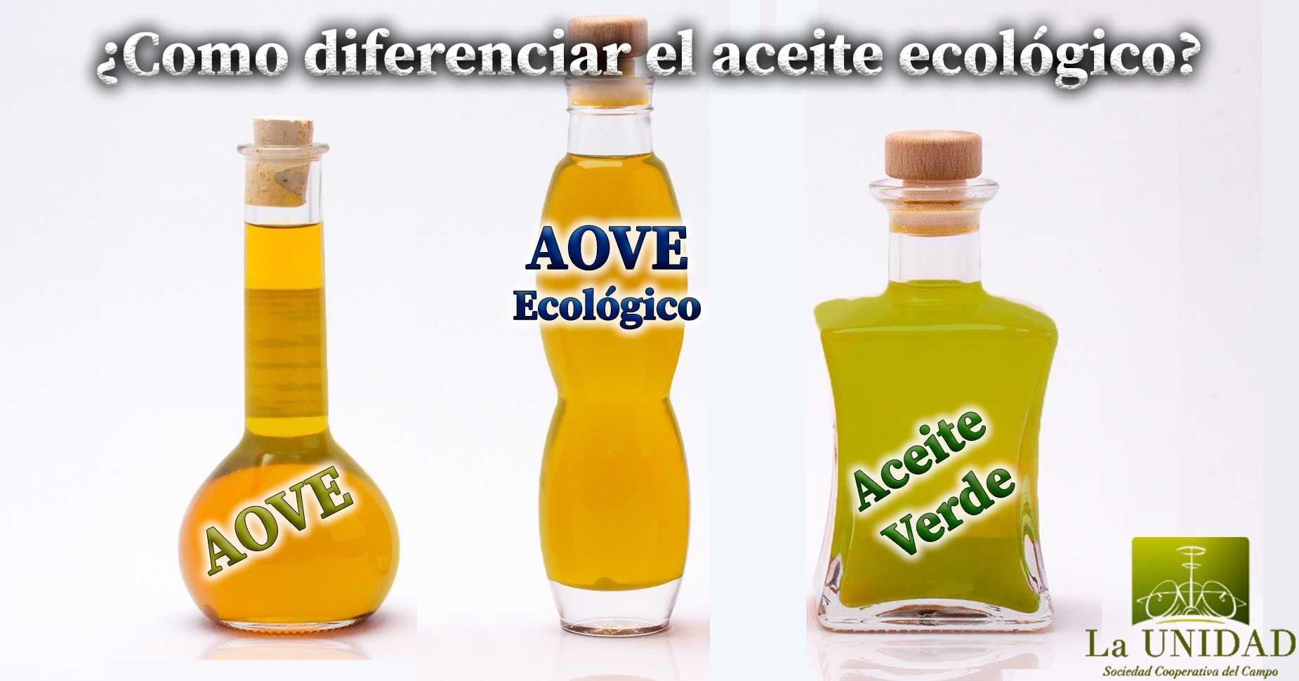 Como diferenciar aceite de oliva ecologico