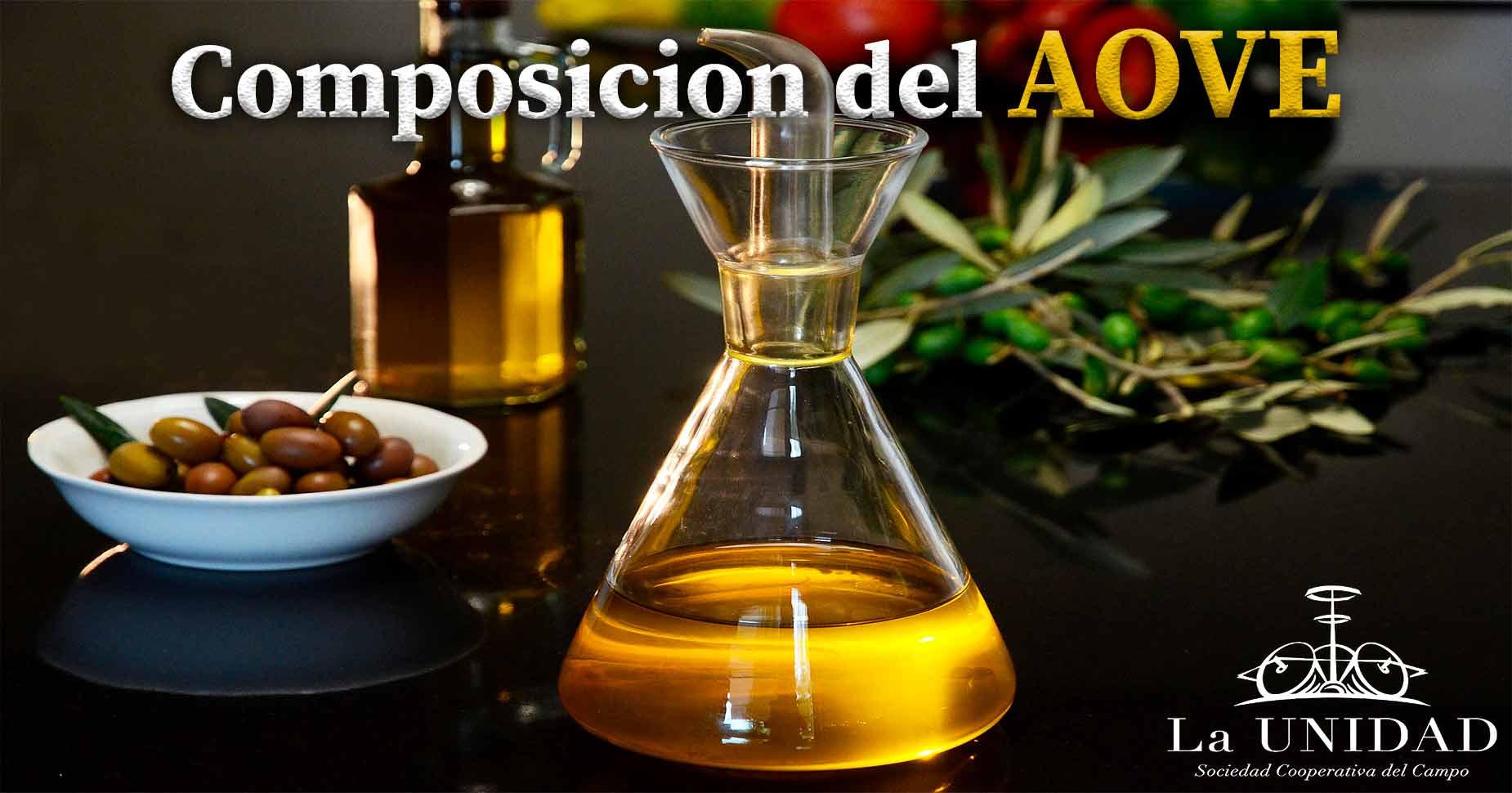 Composición aceite de oliva