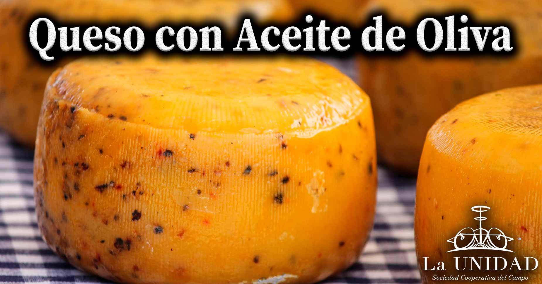 queso con aceite de oliva
