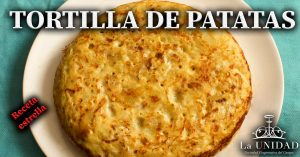 receta tortilla de patatas